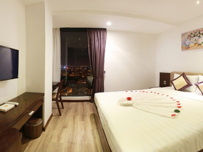 deluxe room hoang dai hotel